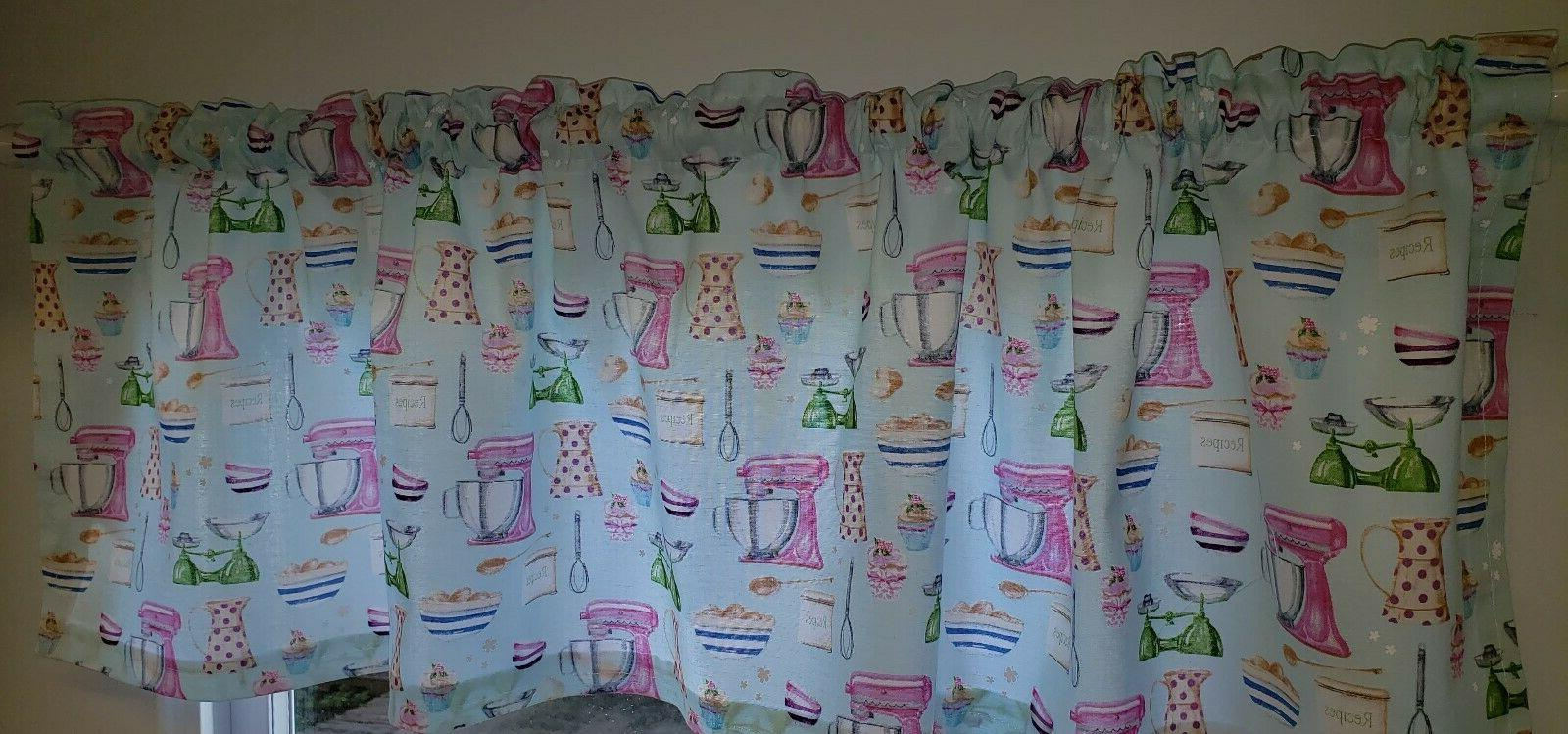 Vintage Kitchen Curtains & Valances