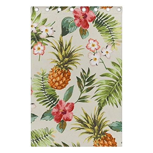 ALIREA Tropical With Pineapple Blackout Grommet for Bedroom,
