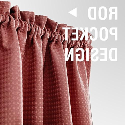 Waffle-Weave Textured Curtains for Water-proof Curtains