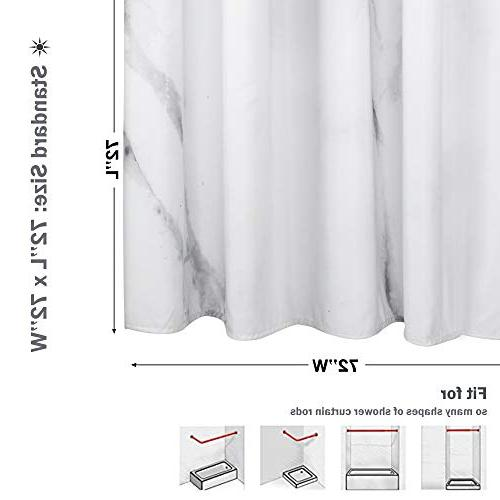 Curtain, Heavy Duty and Grey Curtain Bathtub 3D Design Brick