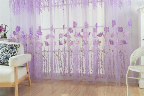 Window Curtains Bedroom Living Room Balcony Kitchen Printed