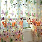 Window Door Curtains Drapes Panels Sheers Voile Tulle Butter