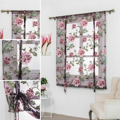 Floral for Kitchen Voile