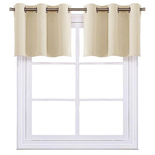 window room darkening valances