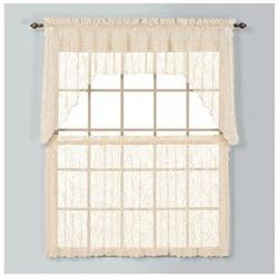Windsor Tier Curtain, 24 H x 56 W x 0.2 D, Natural