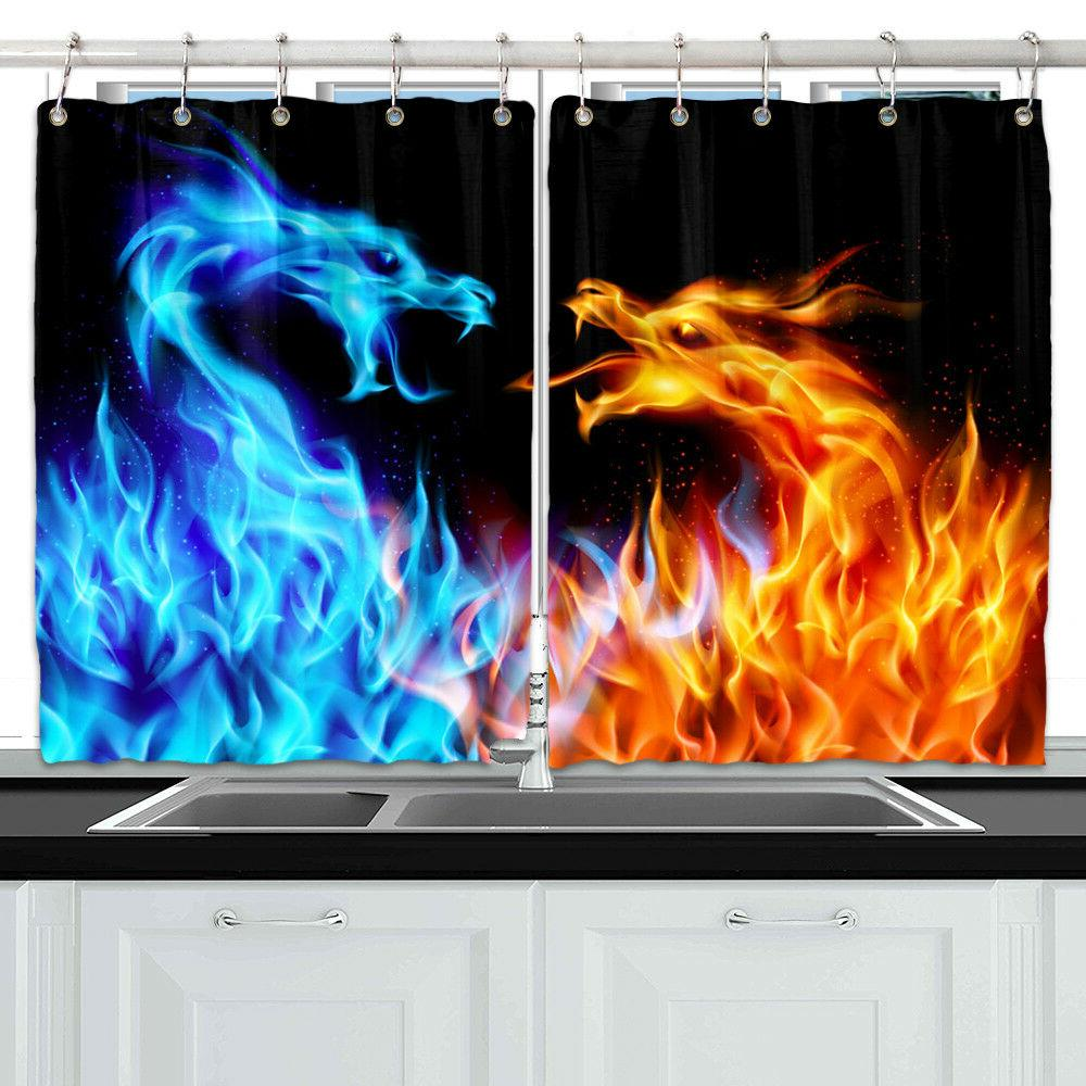 ice and fire dragon window curtain treatments