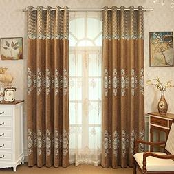 Living curtains bedroom decorative drapes shade insulation c
