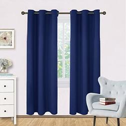 NICETOWN Living Room Blackout Draperies Curtains, Window Tre