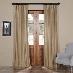 Half Price Drapes LN-XS1703-120 French Linen Curtain, 50 x 1