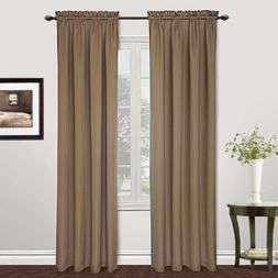 United Curtain Metro Woven Window Curtain Panel, 54 by 72-In
