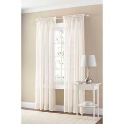 rare perfume Midwest Collection 1 Voile Sheer Window Curtain