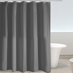 Eforgift Solid Color Shower Curtain Polyester Fabric 100% Wa
