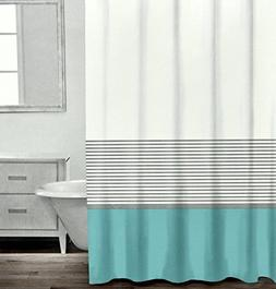 Caro Home Modern Striped Shower Curtain By, Contemporary Hor
