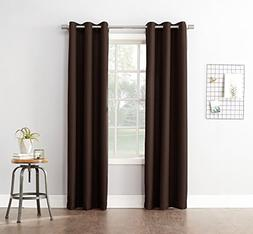 No. 918 Montego Casual Textured Grommet Curtain Panel, 48 x