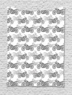 Ambesonne Motorcycle Tapestry Wall Hanging Decor for Room 2