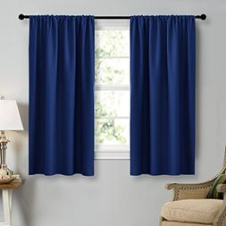 NICETOWN Royal Navy Blue Curtains Blackout Draperies - Home