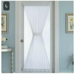 New, Better Homes & Gardens Crushed Voile Door Curtain One P