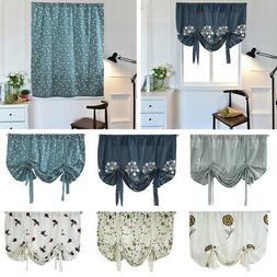 new embroidered sheer rome window kitchen half