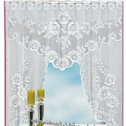 New Vintage Style Lace Coffee Curtain Kitchen Curtain Vintag