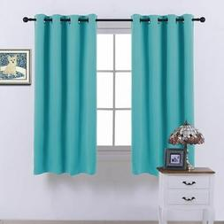 NICETOWN Black Out Curtain Panels for Kitchen - Energy Smart