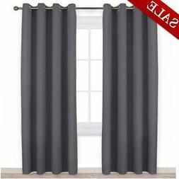 NICETOWN Blackout Curtains Panels for Bedroom - 3 Pass Micro
