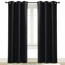 NICETOWN Soundproof Thermal Insulated Blackout Curtain Solid