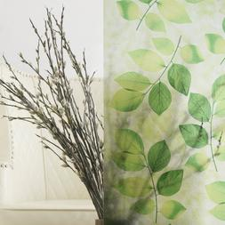 Best Home Fashion Non-Adhesive Frosted Privacy Window Film -