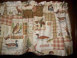 Northwest Cabin Camp Deer Owl Lodge Duck Mushroom fabric kit