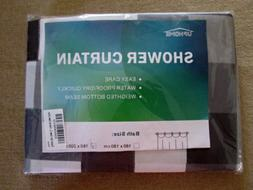NWT Contemporary Shower Curtain Set by UpHome – See Full D