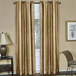Achim Ombre Gold Window Curtain Panel Gold