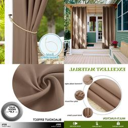 NICETOWN Outdoor Drape For Patio Home Decorations Thermal In