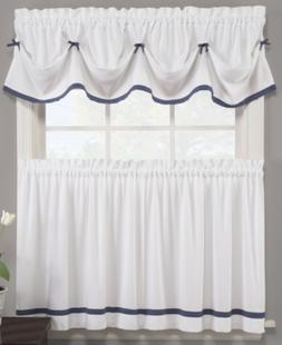 """Saturday Knight Pair of Kate 29"""" x 36"""" Cafe Curtains Bedding"""