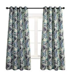 MYSKY HOME Palm Leaf Fashion Design Print Thermal Insulated