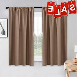 Panels PONY DANCE Kitchen Curtains Short - Thermal Insulated