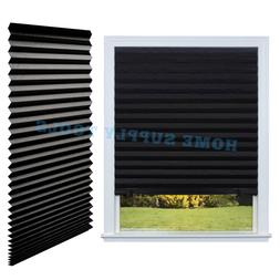 PAPER PLEATED SHADE 36'' x 72'' Window Blind Blackout Light