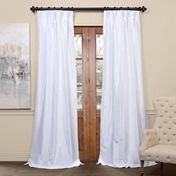 Half Price Drapes PDCH-KBS1BO-96-FP Pleated Blackout Vintage