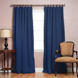 Best Home Fashion Pinch Pleated Thermal Insulated Blackout C