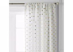 "Better Homes and Gardens Polka Dots Curtain Panel , 52"" x 63"