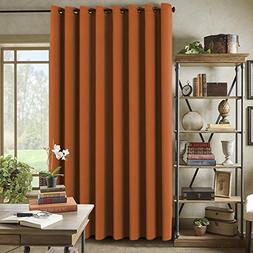 H.VERSAILTEX Blackout Patio Curtains, Extra Long and Wider