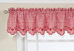 Lorraine Home Fashions Provence Tier Curtain Pair, 60 by 24-