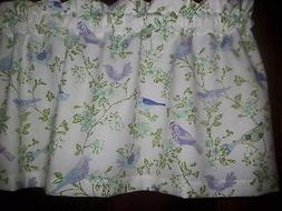 Purple Lavender Blue Birds Dogwood waverly fabric kitchen cu