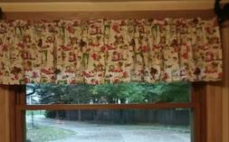Retro Blender Stove Kitchen  Curtain Valance Window  Cotton