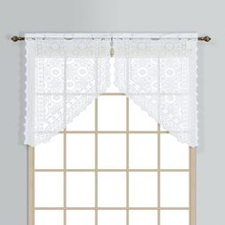 New Rochelle Curtain Valance, White