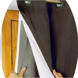 "Rod Pocket Single Curtain Liner Size: 45"" x 56"""