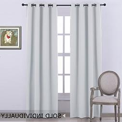 NICETOWN Room Darkening Curtain Window Panel -  Solid Therma