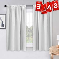 PONY DANCE White Draperies & Curtains - Room Darkening Rod P