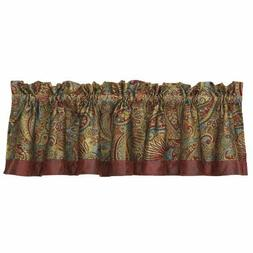 Hiend Accents San Angelo Paisley Western Valance