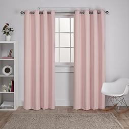 Exclusive Home Curtains Sateen Twill Weave Insulated Blackou