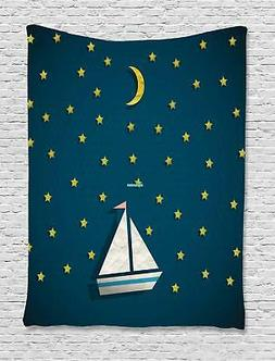 Ambesonne Sea Tapestry Wall Hanging Decoration for Room 2 Si
