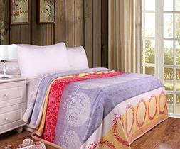 DaDa Bedding Seashore Sands Soft Cozy Plush Luxe Flannel Fle